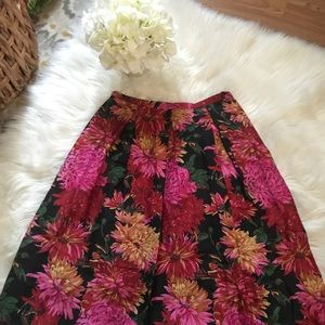 TALBOTS 100% Silk skirt